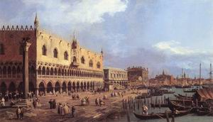 Riva degli Schiavoni, Looking East 1730