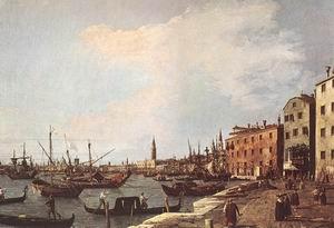 Riva degli Schiavoni west side 1726-28