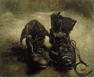 Still Life of Shoes 1886