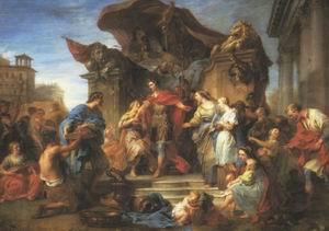 The Continence of Scipio 1726