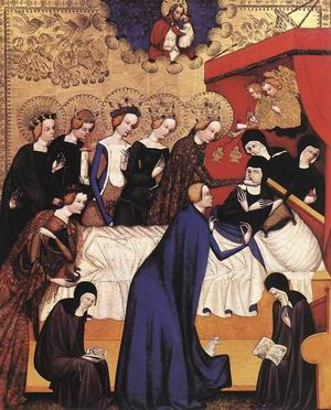The Death of St. Clare 1410