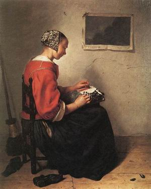 The Lace-Maker 1662