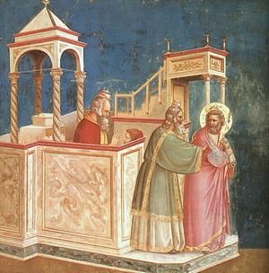 The Last Judgement, detail of Jesus 1305-13