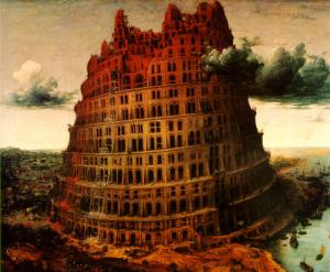 The Little Tower of Babel c.1563