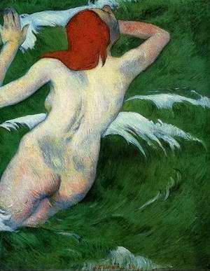 Woman In The Waves Aka Ondine I