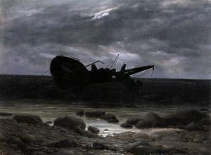 Wreck in the Moonlight c. 1835
