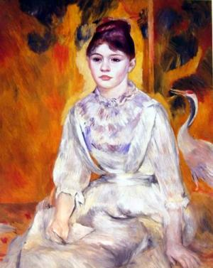 Young Girl with a Swan,1886