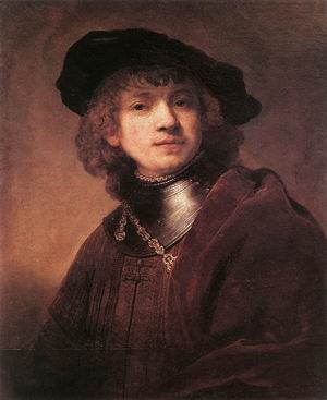 Self Portrait as a Young Man 1634