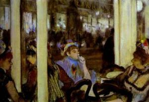 Women, on a Cafe Terrace. 1877