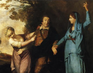 David Garrick Between Tragedy and Comedy. 1760-61