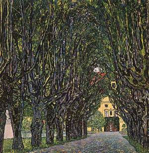 Avenue in Schloss Kammer Park, 1912