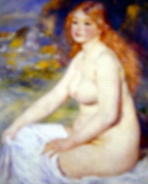 Blonde Bather,1881