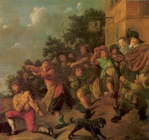Boys with Dwarfs 1646