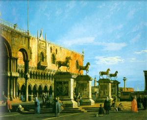 Capriccio, The Horses of San Marco in the Piazzetta
