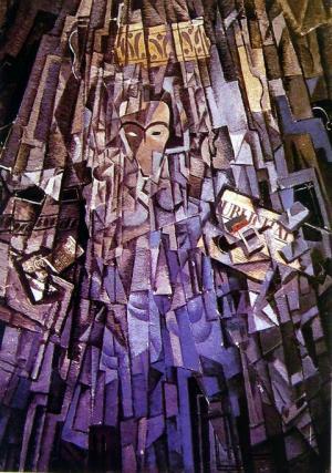 Cubist Self-Portrait, 1923