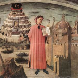 Dante and the Three Kingdoms (detail) 1465