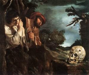 Et in Arcadia Ego 1618-22