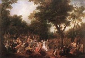 Fete in a Wood 1720-25