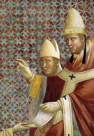 Franciscan Rule Approved(Detail) c. 1288-1292