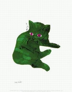 Green Cat c.1956