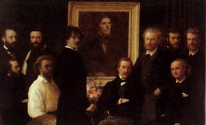 Homage to Delacroix 1864