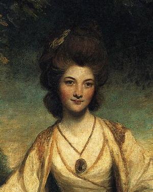 Lady Elizabeth Compton. Detail. 1781