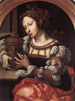 Lady Portrayed as Mary Magdalene