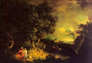 Landscape with Dido and Aeneas 1769