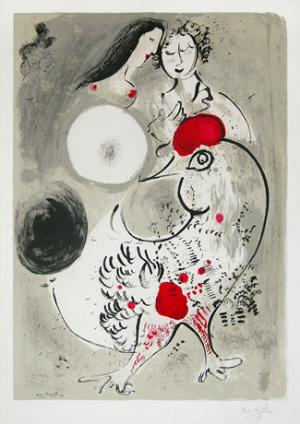 Le Cochet Gris (The Grey Rooster) 1950