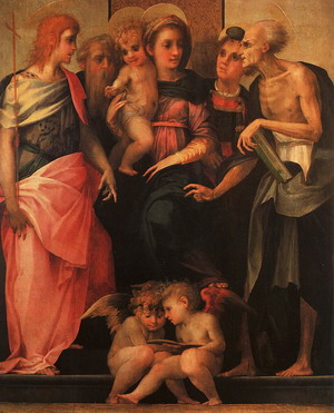 Madonna and Child with Saints 1518