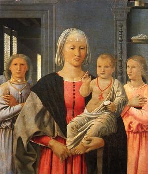 Madonna of Segnigallia 470s