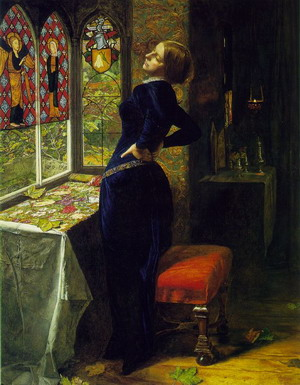 Mariana in the Moated Grange 1850-51