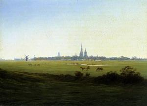Meadows near Greifswald c. 1822