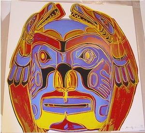 Northwest Coast Mask(Cowboys and Indians) 1986