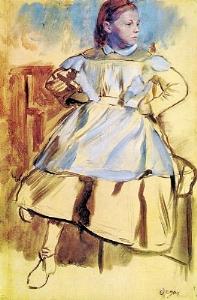 Portrait of Giulia Bellelli sketch 1859-60