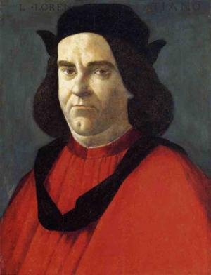 Portrait of Lorenzo di Ser Piero Lorenzi 1490-95