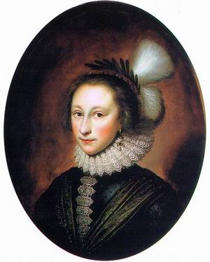 Portrait of Susanna Temple (later Lady Lister), 1620