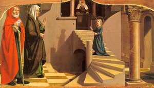 Presentation of the Virgin at the Temple 1500