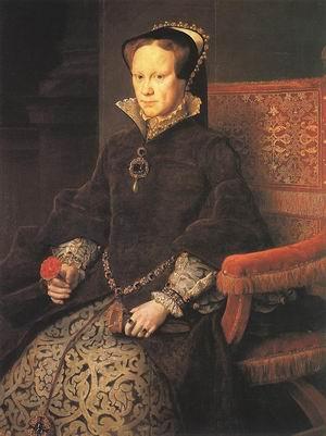 Queen Mary Tudor of England 1554