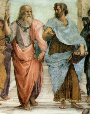 School of Athens (Detail of Plato and Aristotle) 1511