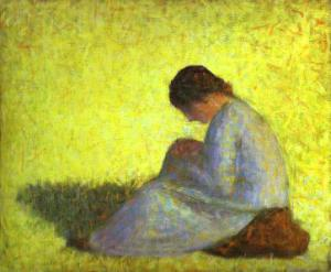 Seated Woman. c. 1882-83.