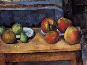 Still Life Apples And Pears
