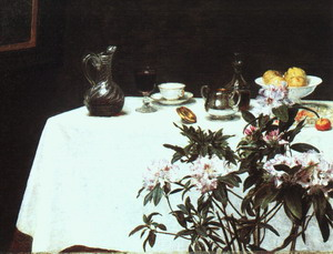Still Life The Corner of a Table 1873