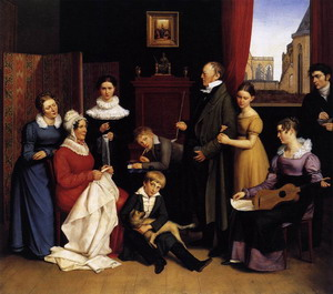The Begas Family 1821