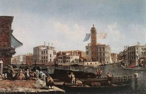 The Grand Canal with the Fishmarket c. 1740
