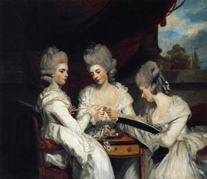 The Ladies Waldegrave. 1780-81