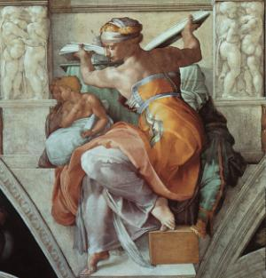 The Libyan Sibyl 1508-12