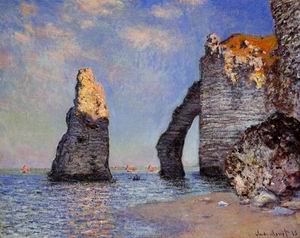 The Rock Needle and the Porte dAval 1885