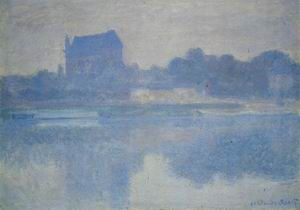 Vernon Church in the Fog 1895