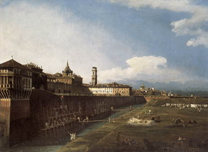 View of Turin near the Royal Palace 1745